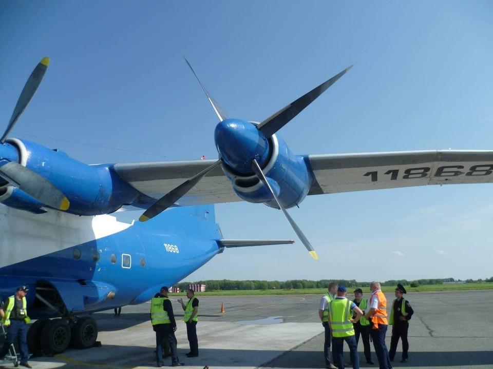 Борт приземлился в аэропорту «Большое Савино». Фото: Уральская транспортная прокуратура