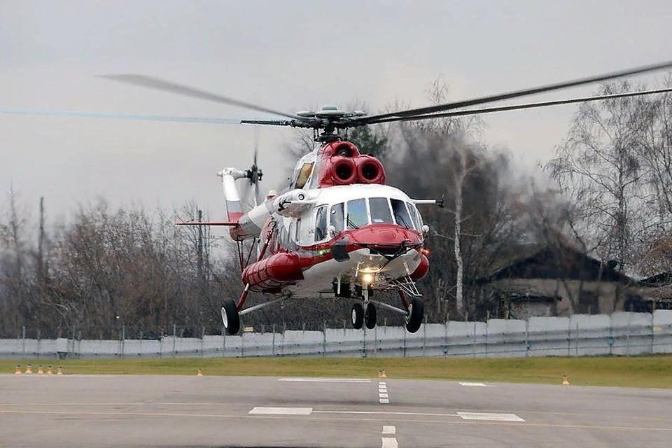 В крушении вертолета на Камчатке выжили восемь человек