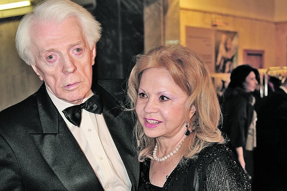 Лионелла Пырьева стала женой артиста 46 лет назад.
