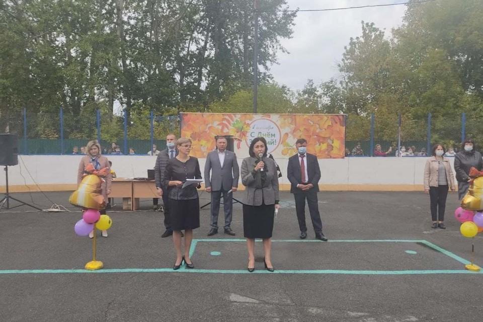 Наталья Котова в школе №144