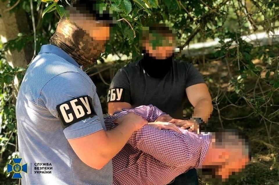 Мужчину задержали, когда он пересекал государственную границу Крыма и Украины. Фото: ssu.gov.ua