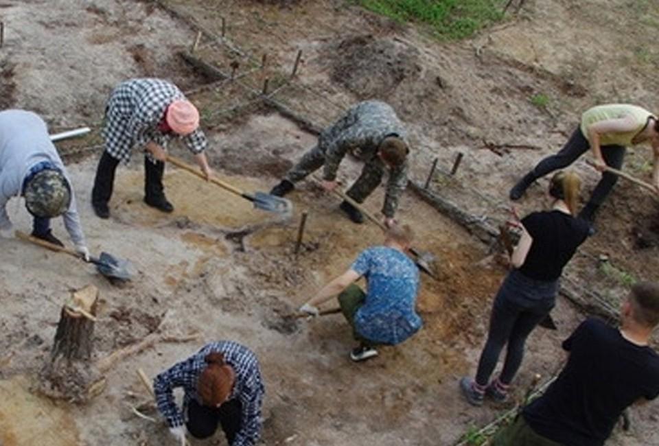 На раскопках в Октябрьском районе археологи нашли редкий артефакт бронзового века Фото: Администрация Октябрьского района