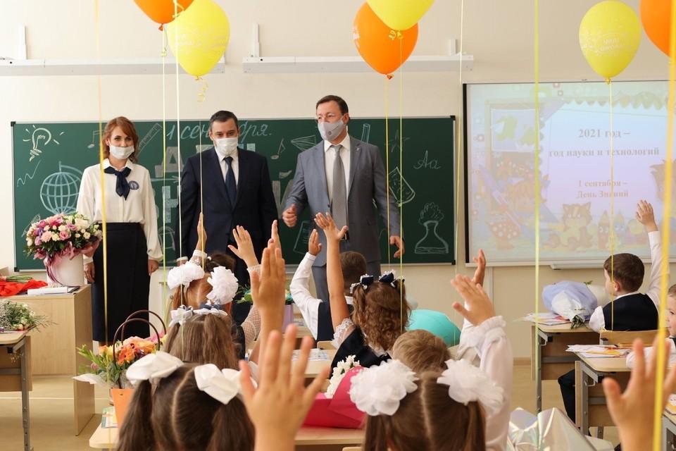 Губернатор побывал на уроке в школе №26