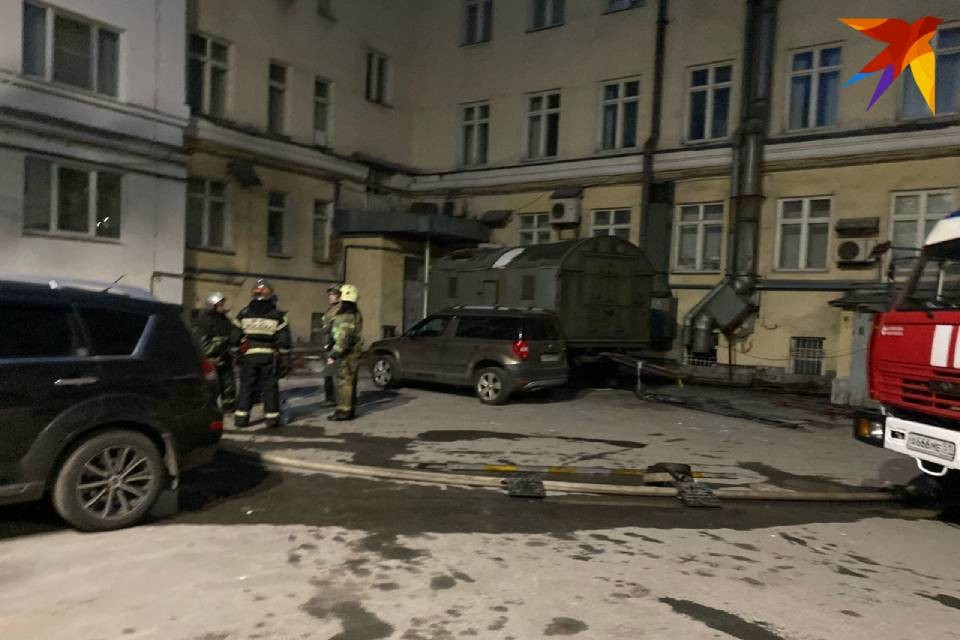 Пожаром на улице Коминтерна занялась прокуратура.