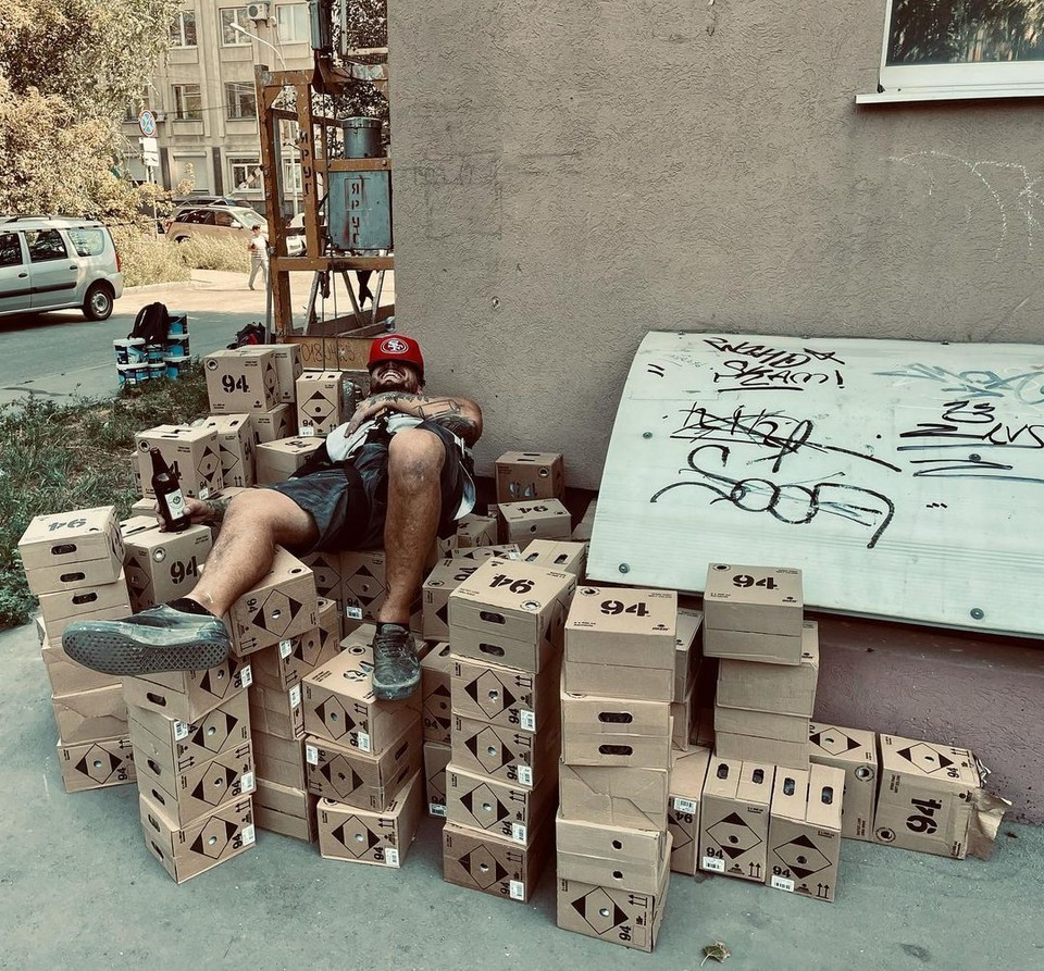 Аргентинский художник уже приступил к работе. Фото: instagram.com/cobreart