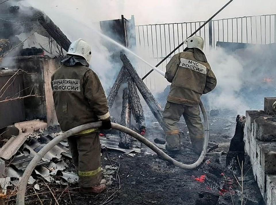 В 2020 году пожарные работали на пределе сил.
