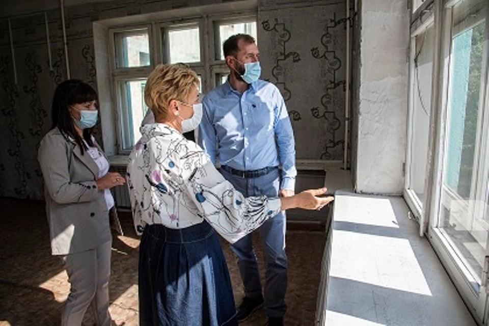 Александр Ведерников в рабочей поездке в Черемхово.