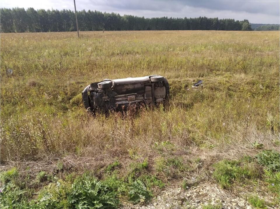 Пристегнулась ремнем и легко отделалась: очередной «первертыш» на дорогах Тульской области