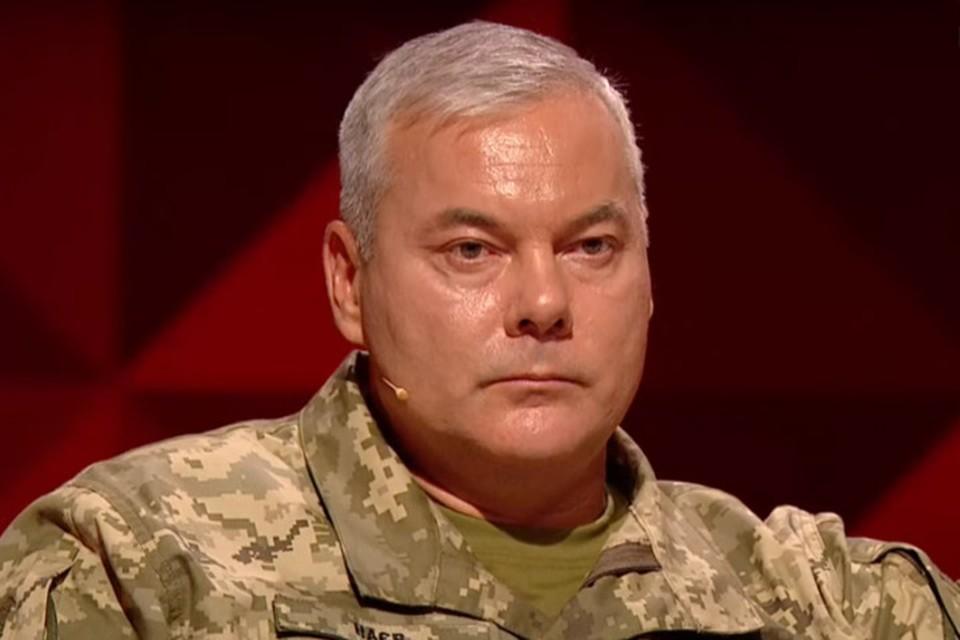 В течение пяти лет Сергей Наев в разных должностях руководил операциями ВСУ в Донбассе. Фото: Скриншот видео «1+1»