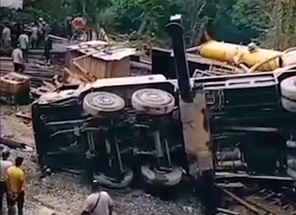 В Сочи рухнул кран из-за нарушения техники безопасности