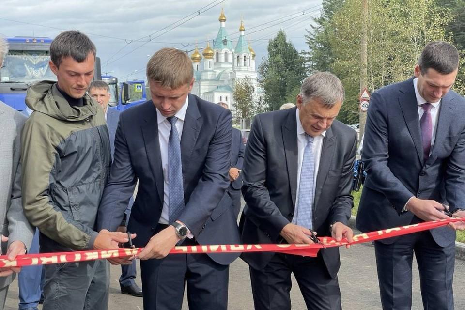 1 сентября в Ангарске состоялось важное событие - открыли новый участок второй полосы улицы Чайковского.