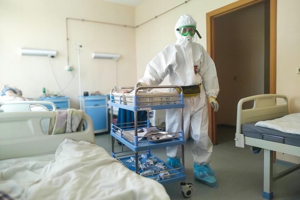 Сейчас коронавирусом болеют почти 8 тыс. человек