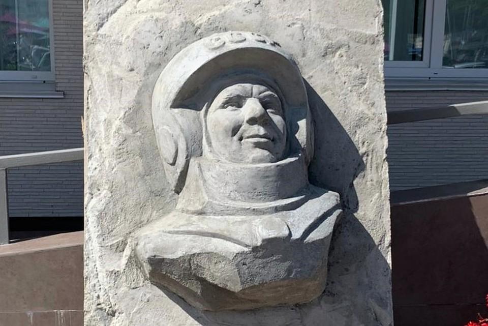 Юрий Гагарин после реставрации слегка помолодел