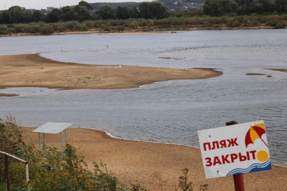 10 пляжей одновременно закрылись в Красноярском крае