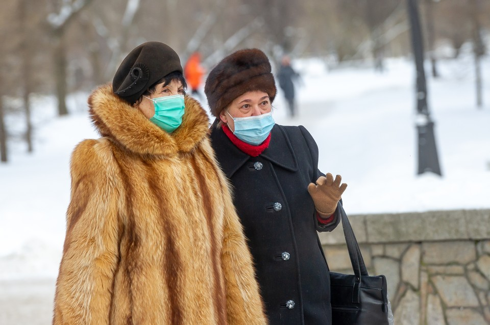 В Петербурге резко вырос спрос на зимнюю одежду