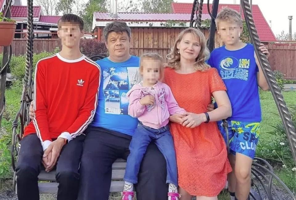 Семья Галины Пухачевой возвращалась домой в Екатеринбург. Фото: СОЦСЕТИ