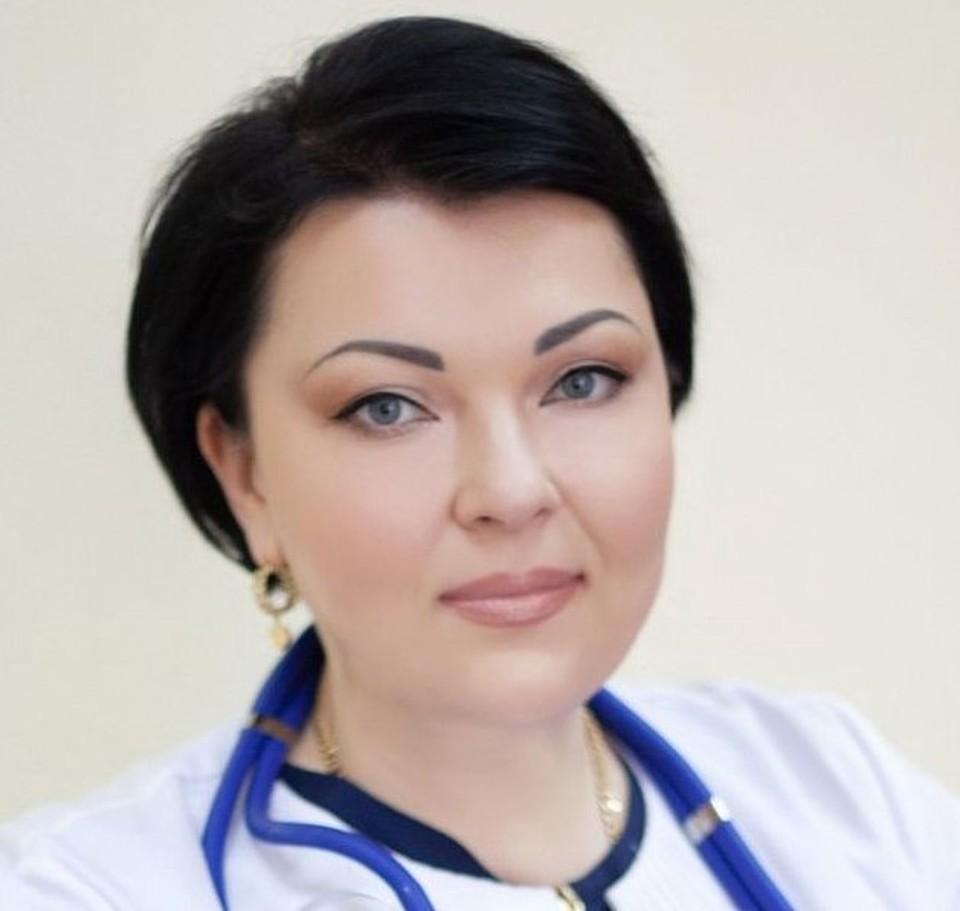 Главный врач больницы №4 г. Севастополя Валентина Гавриляк