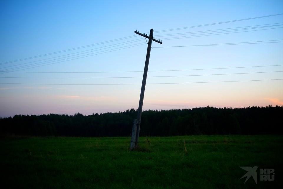 В понедельник в Рязанском районе массово отключат электричество.