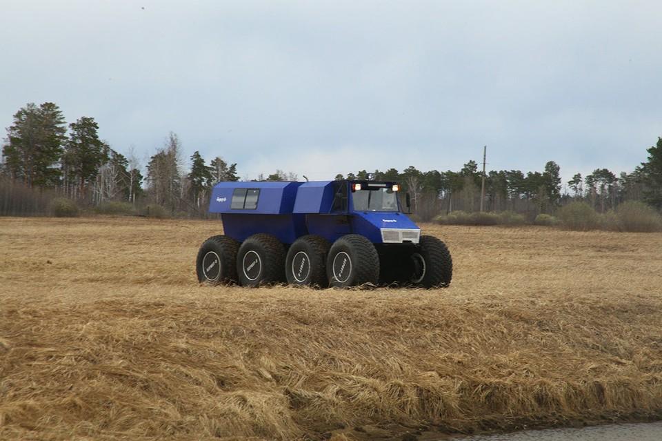 Снегоболотоходы тюменского производства пользуются спросом на Украине, в Казахстане и ОАЭ. Фото: http://berkut8.ru/