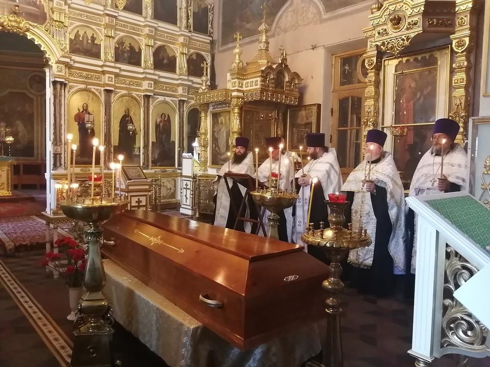 Иерея Сергия Муравьева, умершего от коронавируса, похоронили под Рязанью в закрытом гробу. Фото: Рязанская епархия.