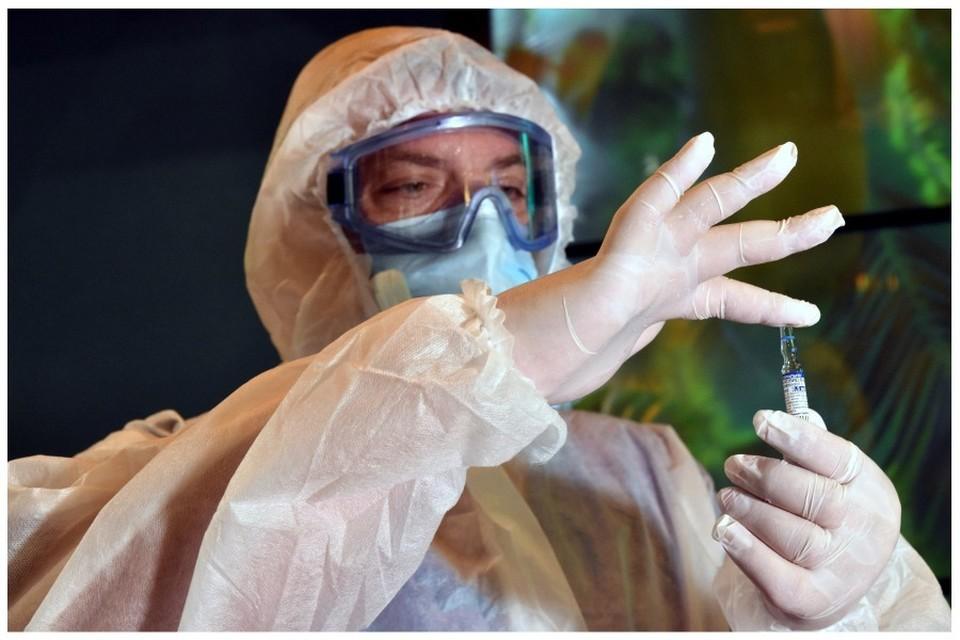 В Крыму проходит вакцинация от ковида.