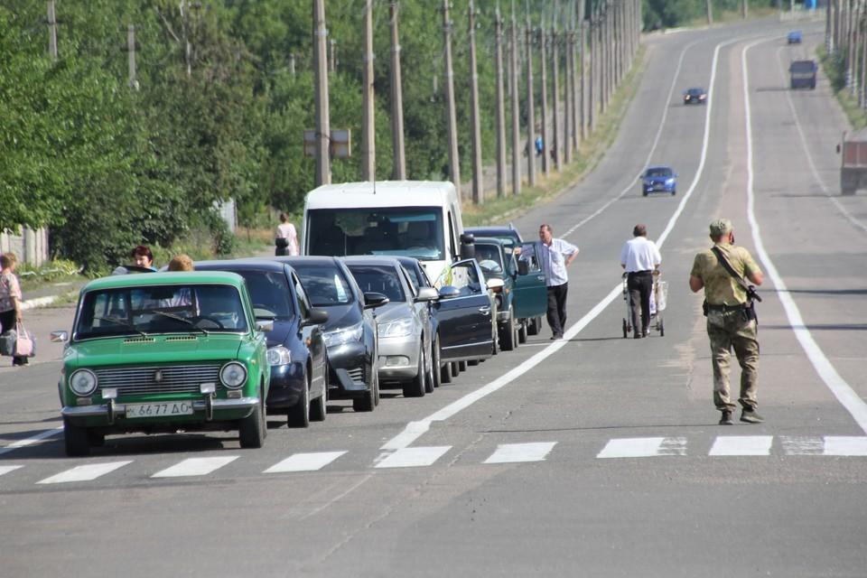 Правила прохождения границы между Украиной и ДНР остались прежние