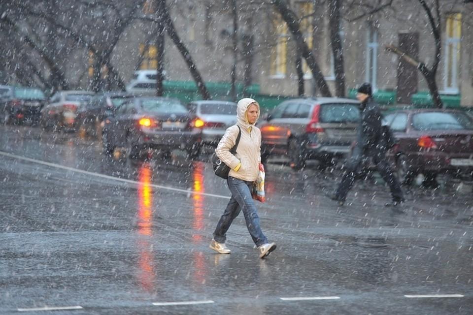 Первый снег накрыл Иркутскую область