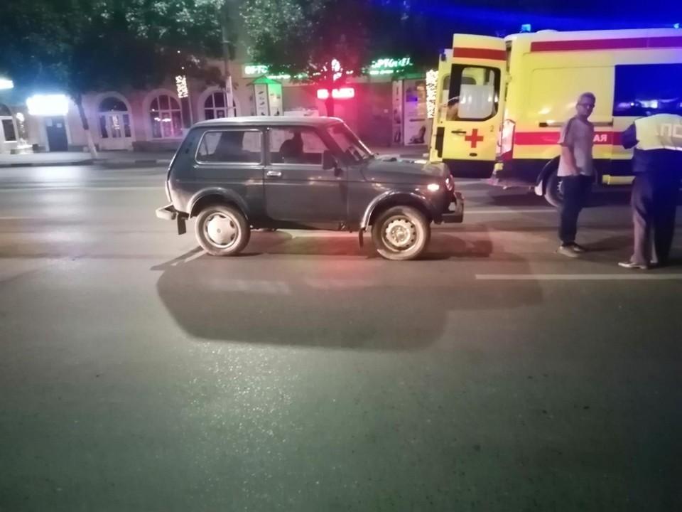 Ночью на Первомайском проспекте «Нива» на скорости сбила пешехода.