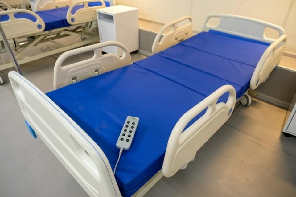 В ковидном госпитале умерла пациента.
