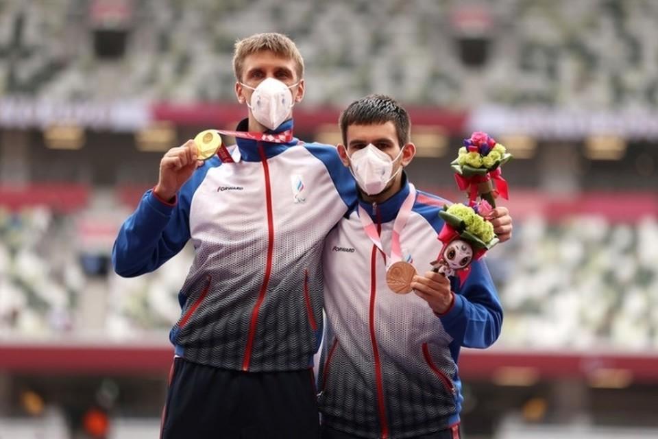 Еще раньше Артем Калашян стал третьим на дистанции в 100 метров. Фото: Центр спортивной подготовки Брянской области.