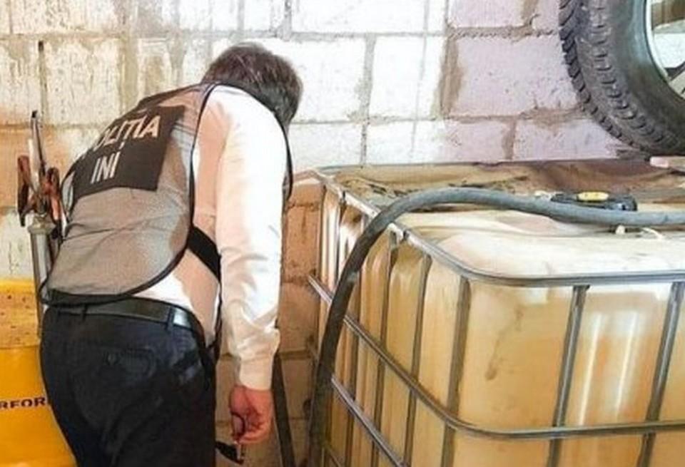Полиция обнаружила подпольные АЗС. Фото: Национальный инспекторат расследований