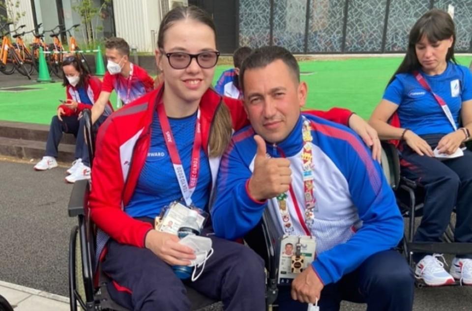 Узнав, что она завоевала паралимпийскую медаль, Женя плакала, но не от счастья, как подумали многие. Фото: Управление по физической культуре и спорту Новочеркасска