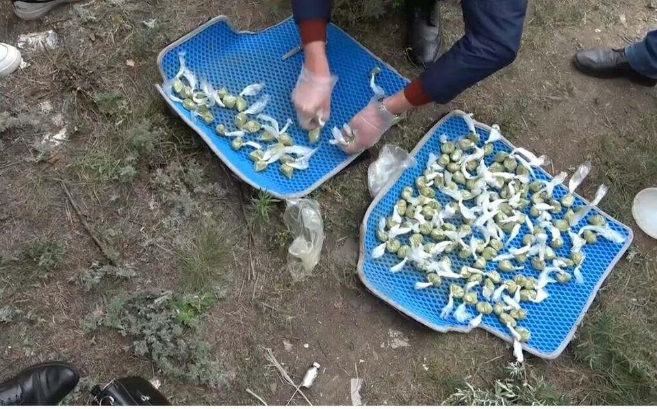 Более 500 грамм гашиша изъяли у задержанных акмолинцев