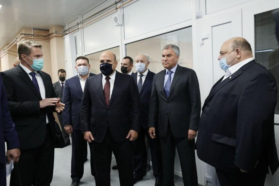 Михаил Мишустин поддержал строительство нового противотуберкулезного диспансера в Саратове