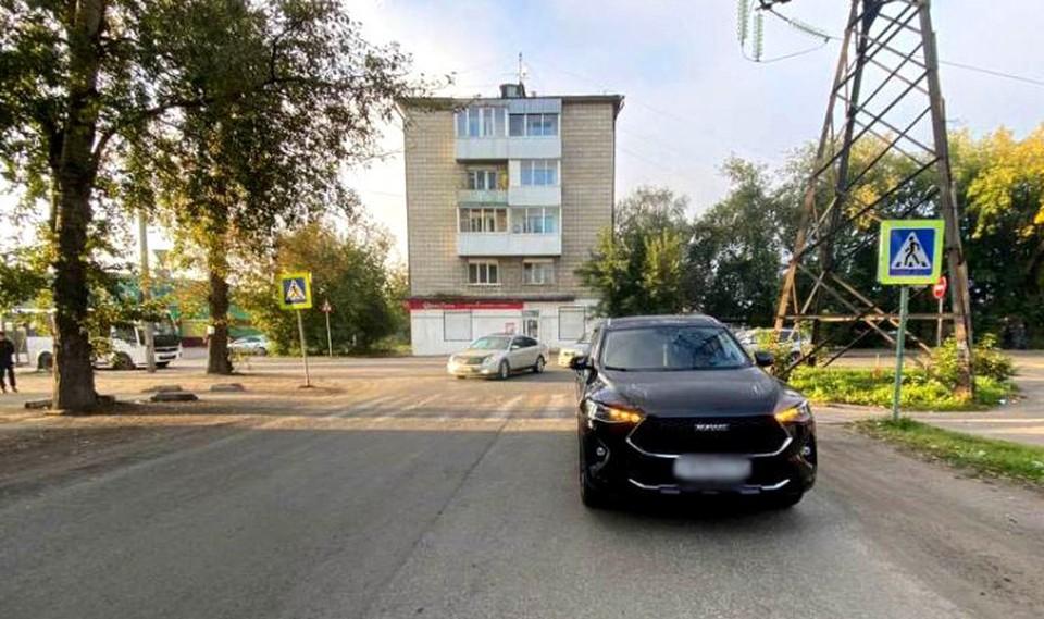 Сегодня в Томске на дороге в ДТП пострадал еще один пешеход. Фото: сайт УМВД России по Томской области