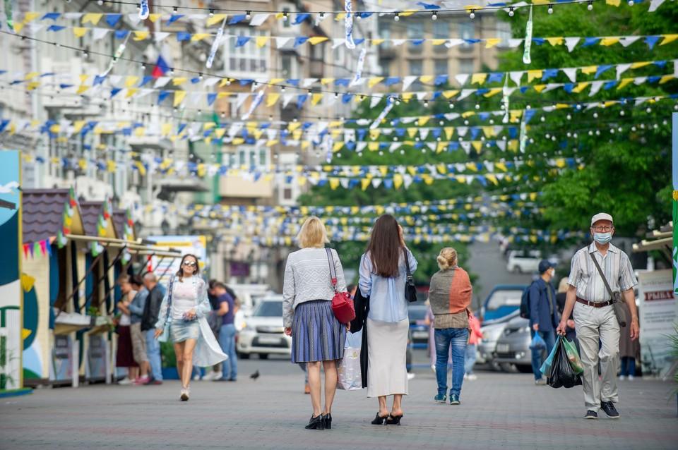 Часть улицы Адмирала Фокина Константин Шестаков уже сделал пешеходной
