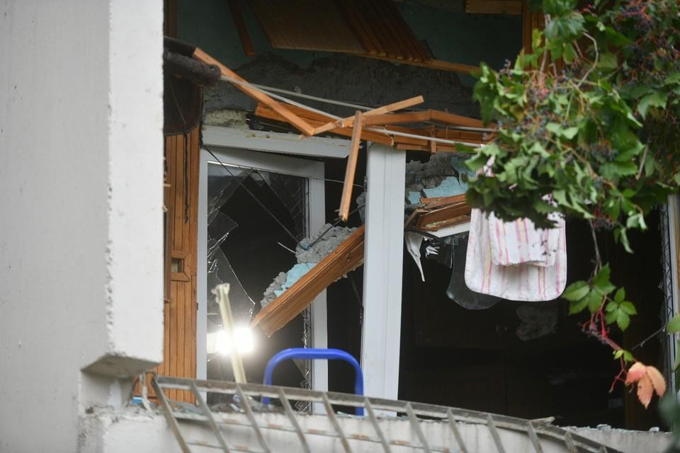 Так выглядит снаружи квартира, где взорвался газ
