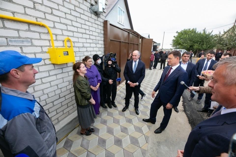 Для подключения был смонтирован газопровод протяженностью 6,2 километра. Фото: пресс-служба главы республики