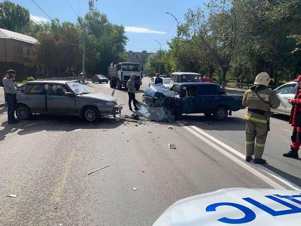 Авария в Заводском районе