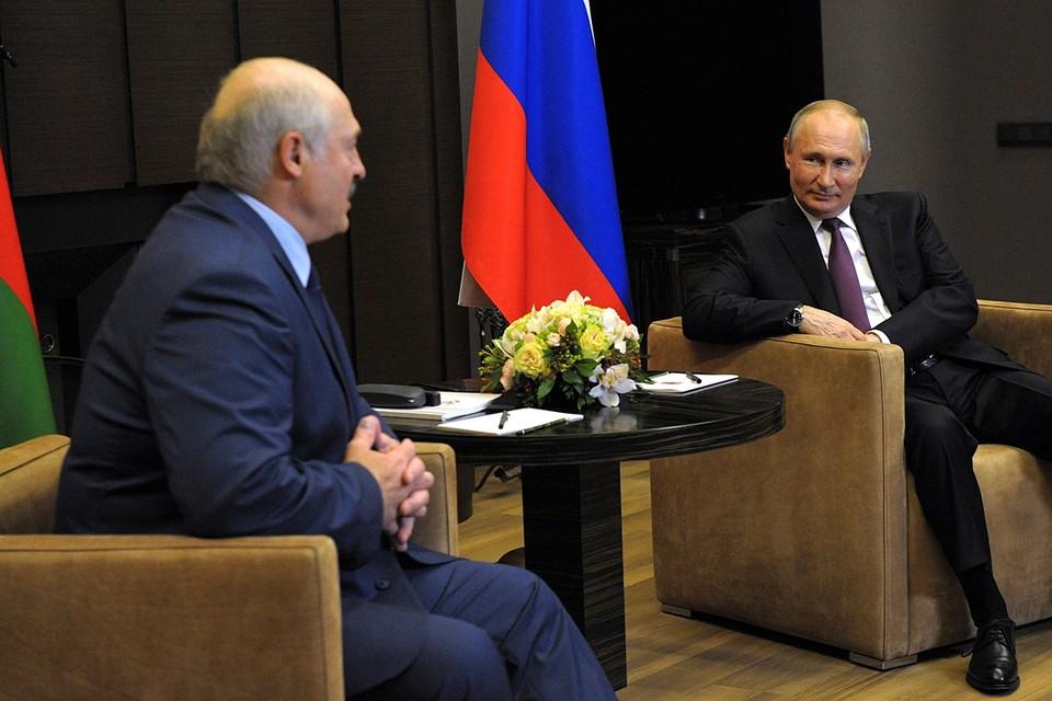 Встреча глав государств началась в Кремле