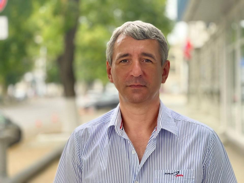 Писатель и политолог Сергей Юхин