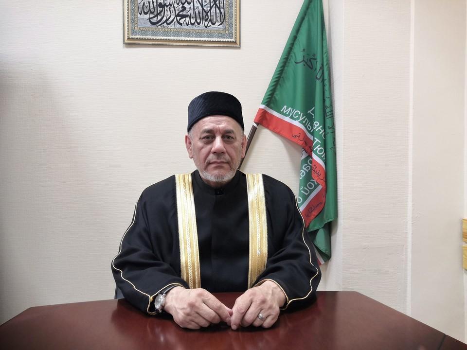 Председатель Духовного управления мусульман Тюменской области Муфтий Зиннат-хазрат Садыков. Фото: Информационно-просветительский портал «Аль-хакк»
