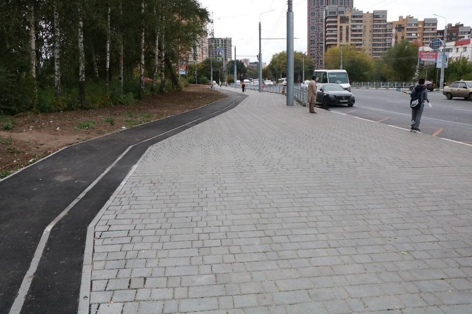 В Дашково-Песочне появится велодорожка протяженностью 2 км. Фото: администрация Рязани.