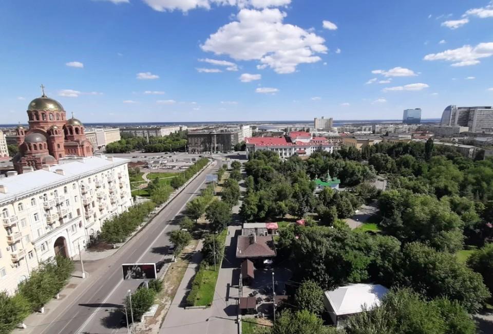 В Волгограде в выходные будет тепло