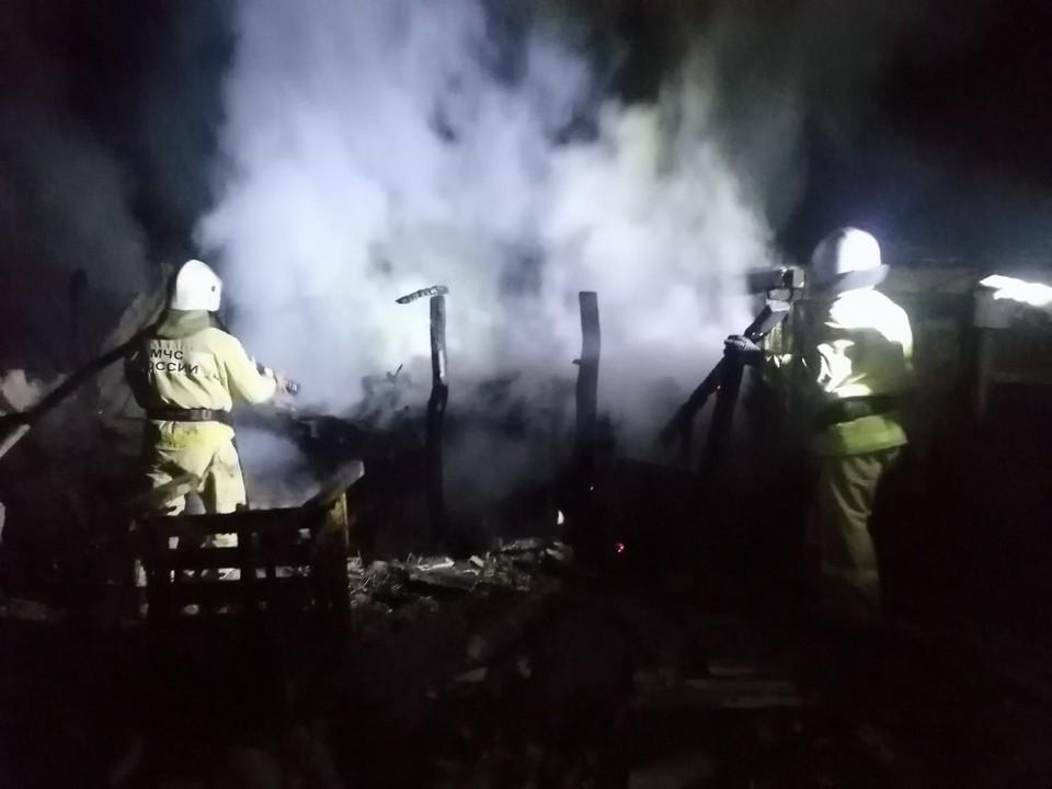 На хуторе Райгородка загорелся автомобиль «Газ 330232».
