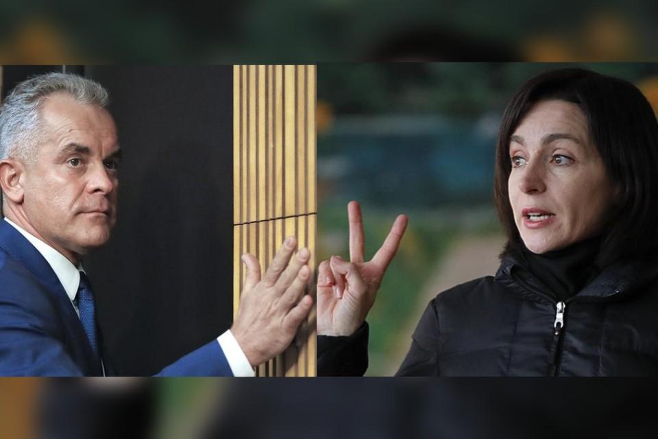 Влад Плахотнюк и Майя Санду - абсолютная власть всласть.
