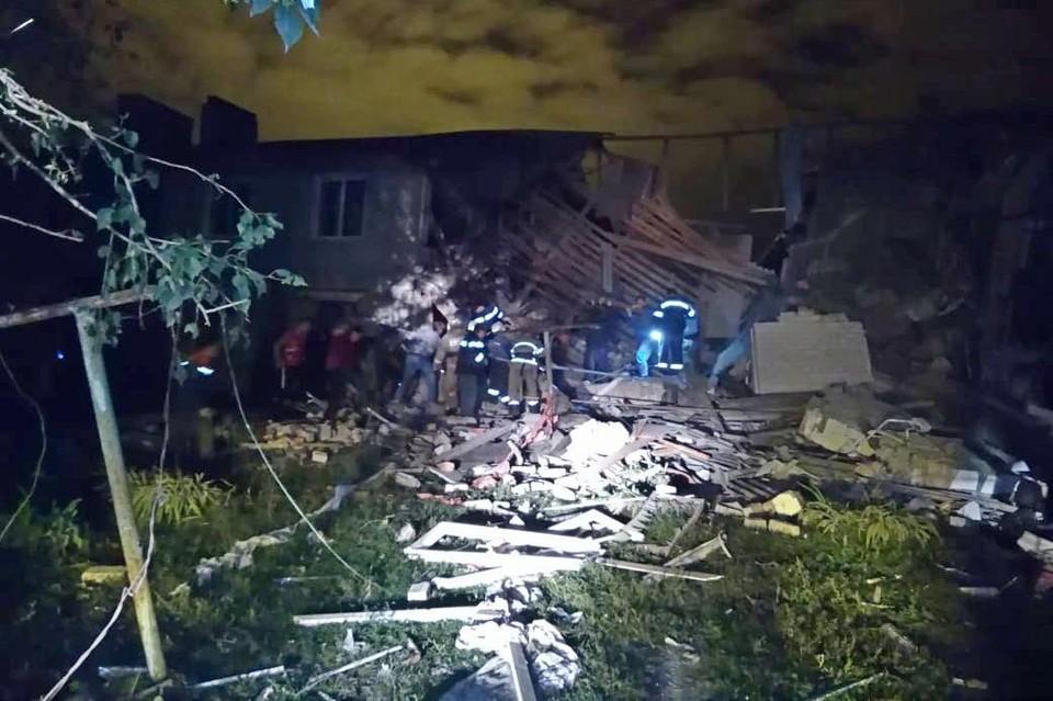 Бытовой газ взорвался в многоквартирном доме в Елецком районе