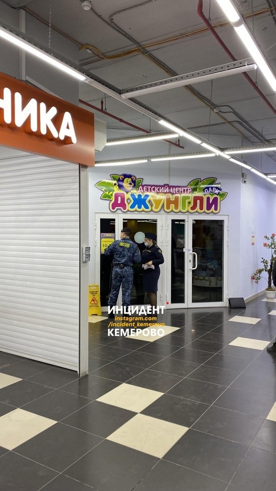 В Кемерове закрыли ТРЦ «Спутник». Фото: ВКонтакте/incident_42.