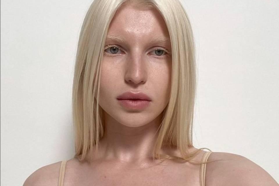 Сандра Капшук - необычная модель из Мурманской области.