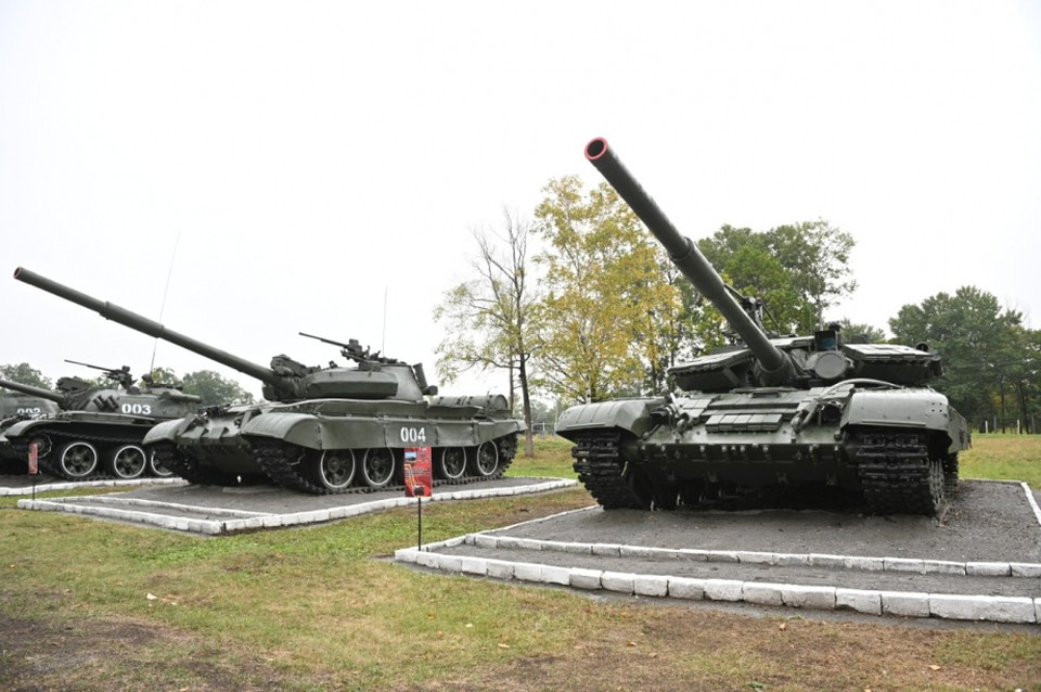 В Хабаровском крае отпраздновали День танкиста